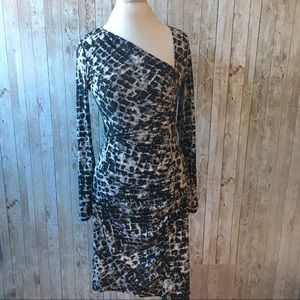 BCBG MaxAzria Long Sleeve Dress